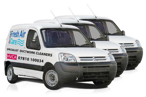 Duct Cleaning London UK Van Photos